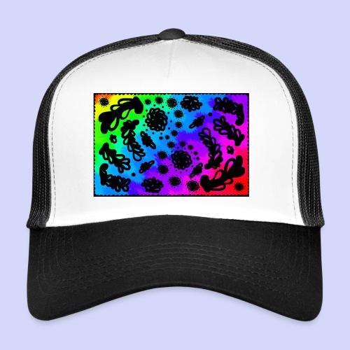 Rainbow doodle - Female shirt - Trucker Cap