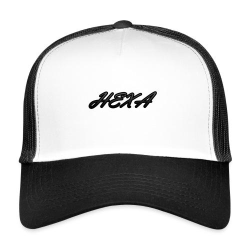 HexaDesignBlackLogo - Trucker Cap