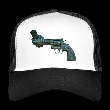 arma de fuego revólver - Gorra de camionero