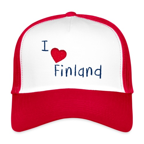 I Love Finland - Trucker Cap