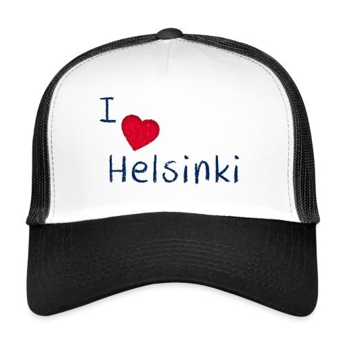 I Love Helsinki - Trucker Cap