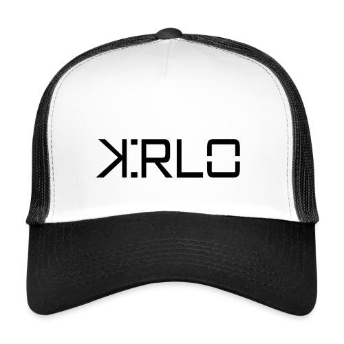 Kirlo Logotipo Negro - Gorra de camionero