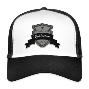 100% Premium Collection Brand - Trucker Cap