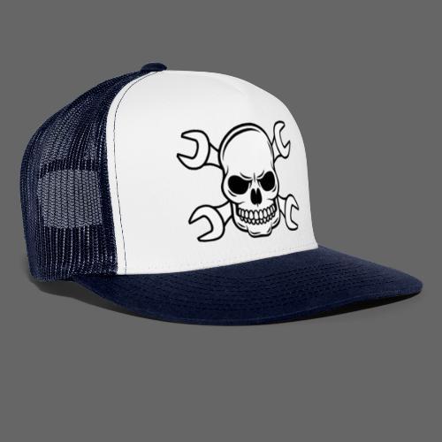 MEKKER SKULL - Trucker Cap