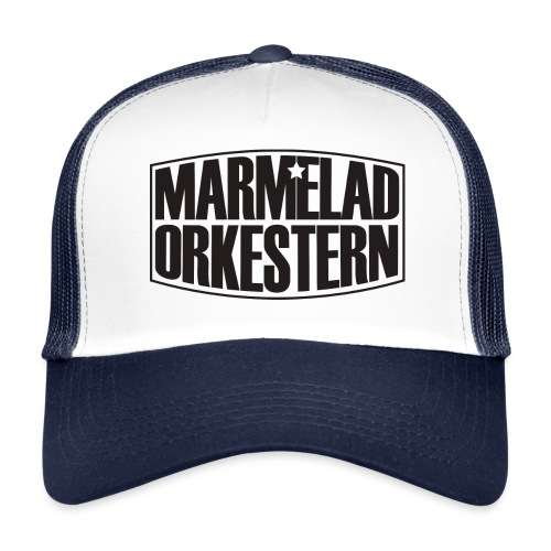 marmelad_svart_logga - Trucker Cap