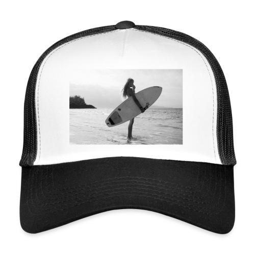 Surfgirl watching - Gorra de camionero