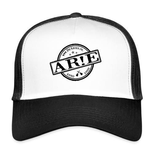 Backdrop AR E stempel zwart gif - Trucker Cap