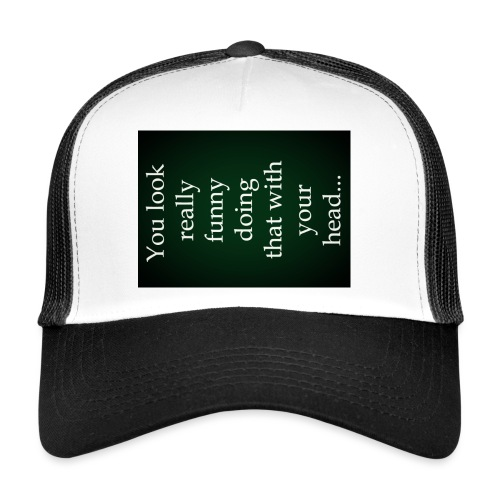 funny - Trucker Cap