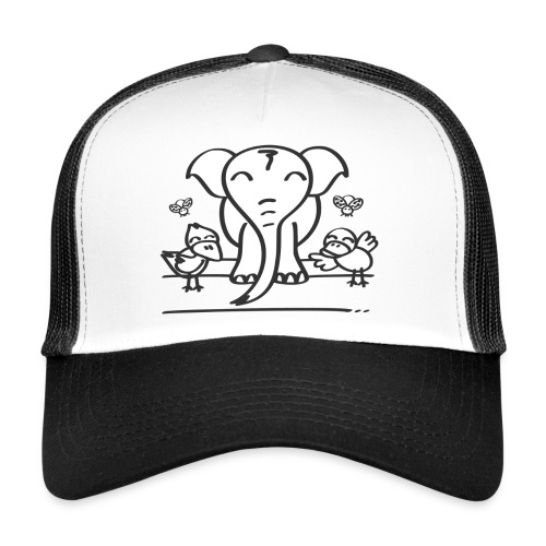 78 elephant - Trucker Cap