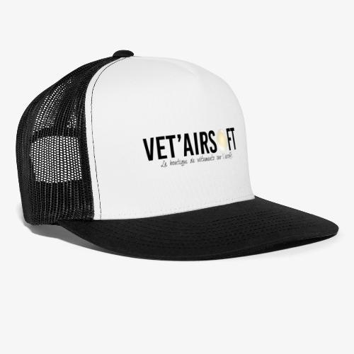 Logo Vet'Airsoft (noir) - Trucker Cap