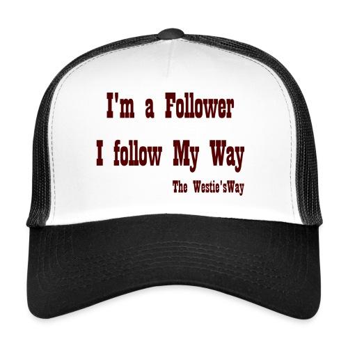 I follow My Way Brown - Trucker Cap