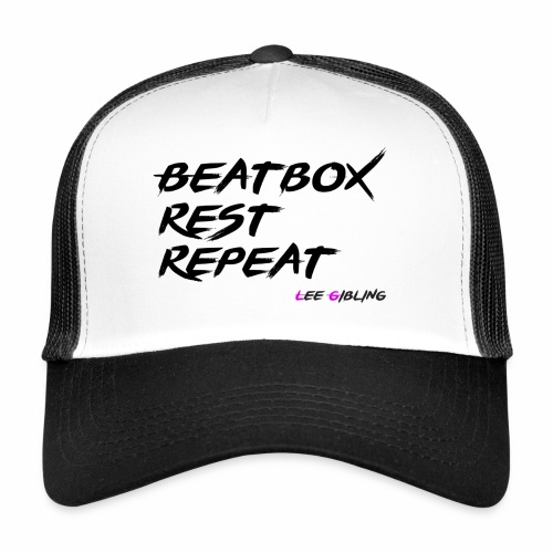 Beatbox Rest Repeat - Large - Trucker Cap