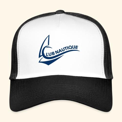 Club Nautque Logo blau - Trucker Cap