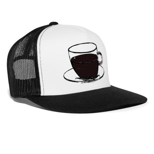 cofee cup - Trucker Cap