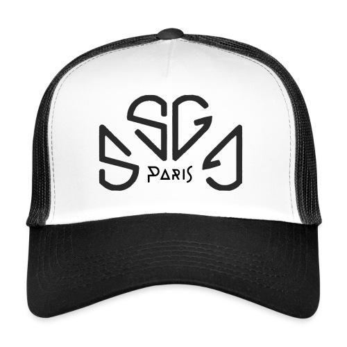 Soni-GanG Paris . Black - Trucker Cap