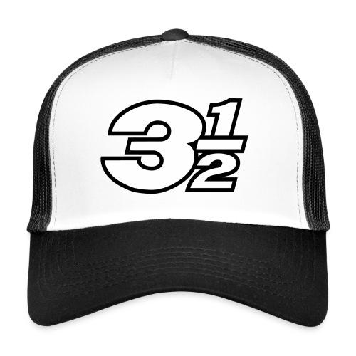 Three and a Half Logo - Trucker Cap
