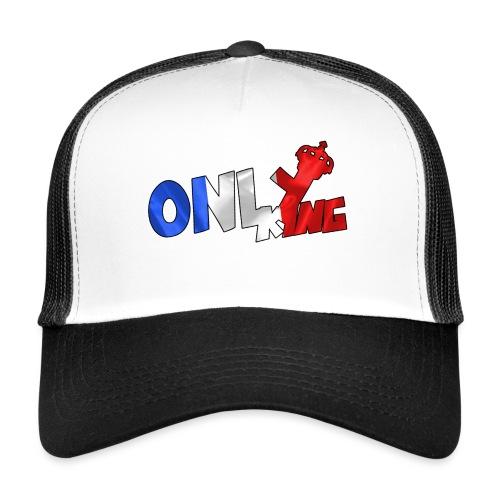 Logo ONLY KING edition francaise - Trucker Cap