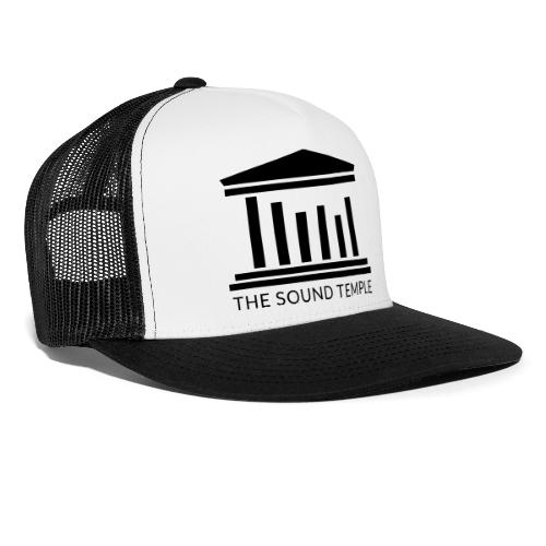 TST Full Logo Black - Trucker Cap