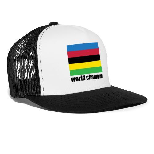 world champion cycling stripes - Trucker Cap