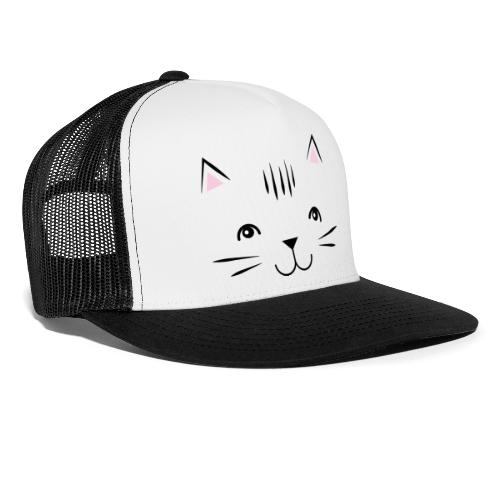 Kitty Cute Cat - Zensitivity - Trucker Cap