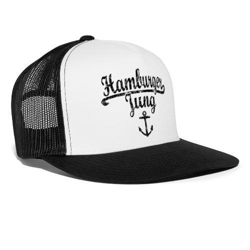 Hamburger Jung Klassik (Vintage Schwarz) Hamburg - Trucker Cap