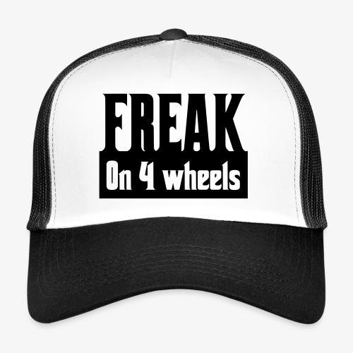 Gek op vier rolstoel wielen - Trucker Cap