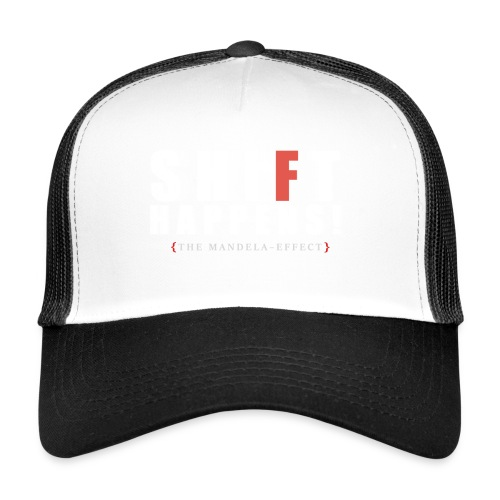 Shift Happens red F - Trucker Cap
