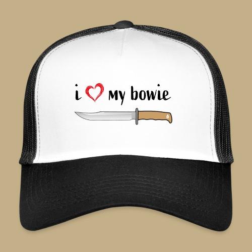 I Love My Bowie - Trucker Cap