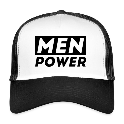 MEN POWER - Trucker Cap