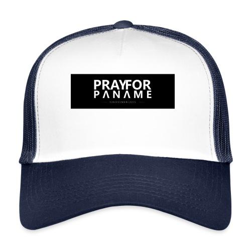TEE-SHIRT HOMME - PRAY FOR PANAME - Trucker Cap