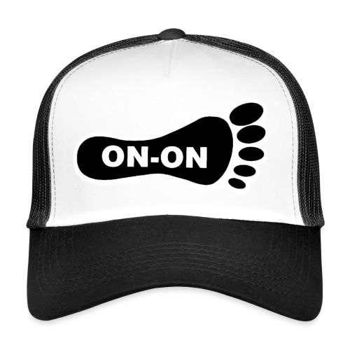 on on foot - Trucker Cap