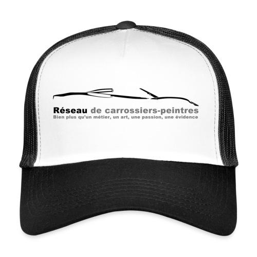 gros logo noir - Trucker Cap