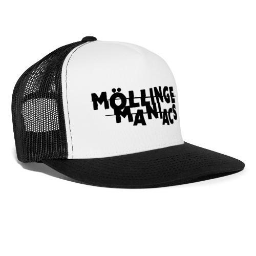 Möllinge Maniacs svart logga - Trucker Cap