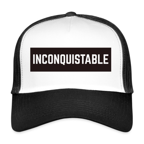INCONQUISTABLE - Gorra de camionero