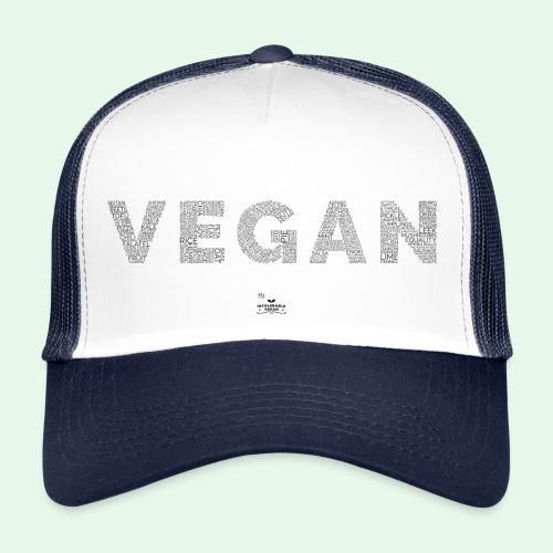 Vegan - Black - Trucker Cap