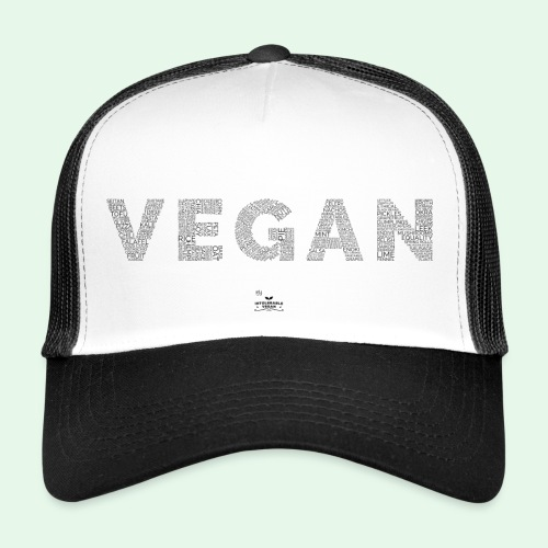 Vegan - Black - Trucker Cap