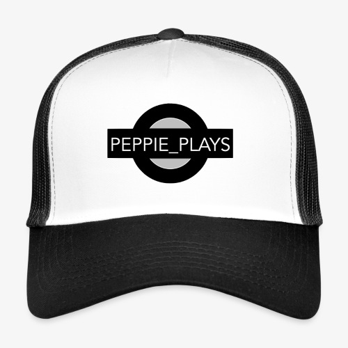 Peppie Plays Logo - Trucker Cap