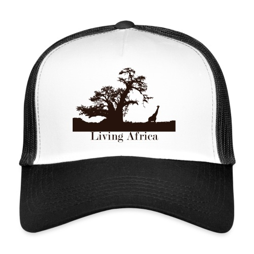 Ultimate_Living_Africa-png - Trucker Cap