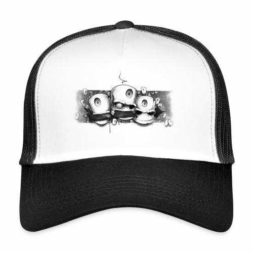 Dont ! Moe Frisco BLK √ - Trucker Cap