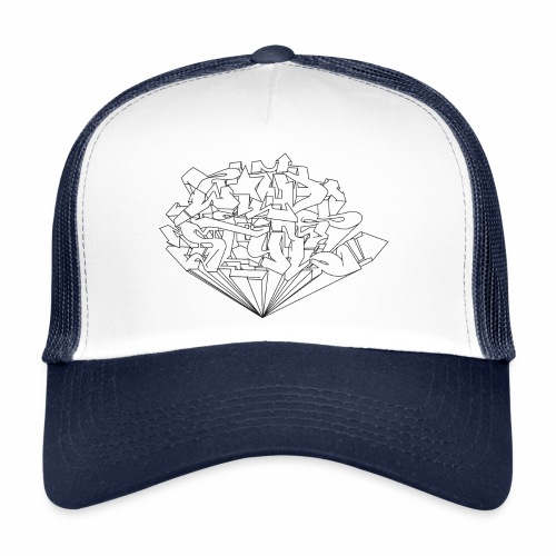 wild style ver0.1 Trick style √ - Trucker Cap