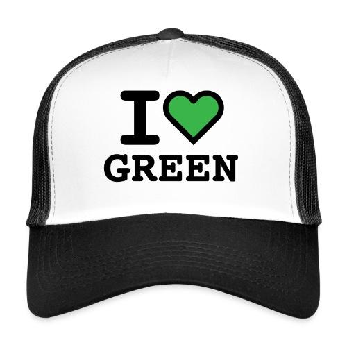 i-love-green-2.png - Trucker Cap