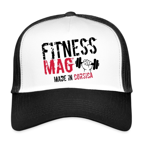 Fitness Mag made in corsica 100% Polyester - Trucker Cap