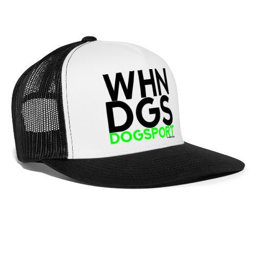 WHNDGS Hundesport Agility Geschenkidee Markenshirt - Trucker Cap