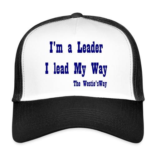 I lead My Way Blue - Trucker Cap