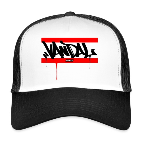 #EASY Graffiti Vandal T-Shirt - Trucker Cap