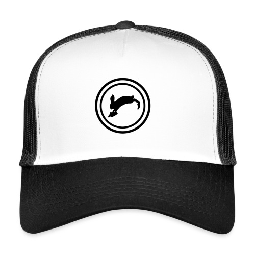 Bunny_Black2 - Trucker Cap