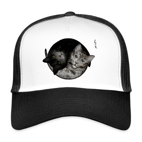 David Pucher Art Katze - Trucker Cap