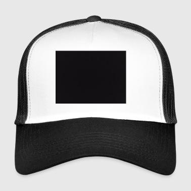 cuadro negro - Gorra de camionero