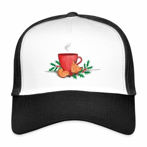 Świąteczny lisek - Trucker Cap