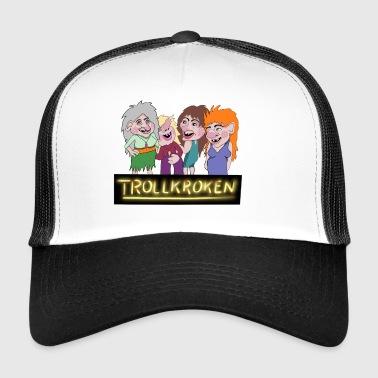 crochet Troll - Trucker Cap